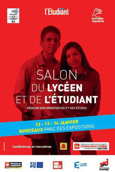 Salon du lyc en et de l 39 tudiant lyc e des m tiers la for Salon studyrama bordeaux